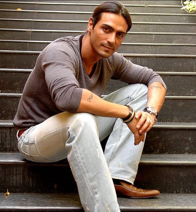 Красивый индийский актер Арджун Рампал. Фото / Arjun Rampal. Photo
