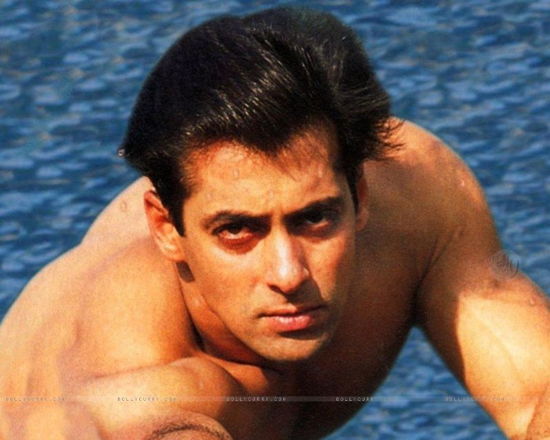 Красивый индийский актер Салман Кхан. Фото / Salman Khan. Photo