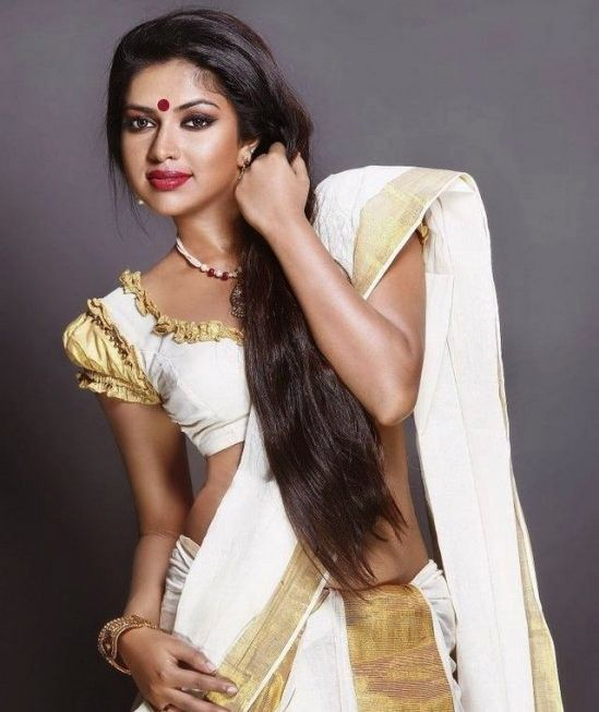 Амала Паул в сари. Фото / Amala Paul in sari. Photo
