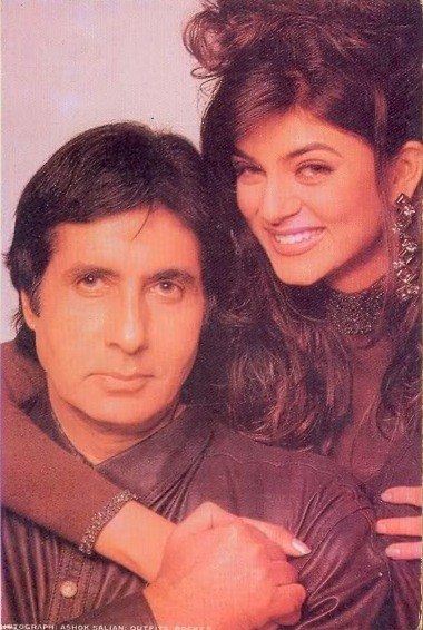 Амитабх Баччан и Сушмита Сен. Фото /  Amitabh Bachchan, Sushmita Sen. Photo