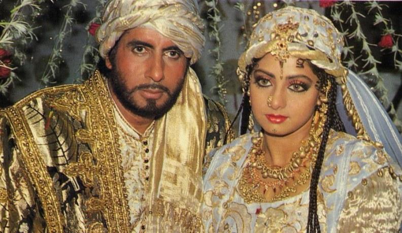 Амитабх Баччан и Шридеви. Бог свидетель. Фото /  Amitabh Bachchan, Sridevi. Khuda Gawah. Photo