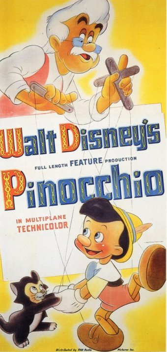 Мультфильм Пиноккио / Pinocchio (1940 American animated film)