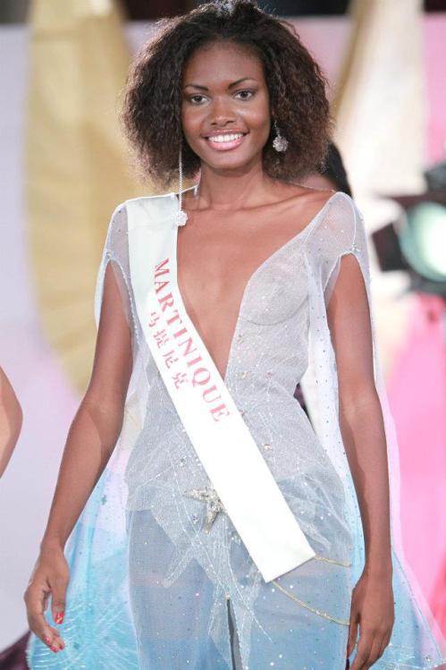 Темнокожая красавица Акселль Перье, Мисс Мартиника 2011. Фото / Axelle Perrier, Miss Martinique World 2011. Photo
