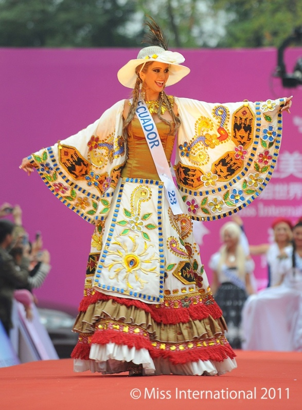 эквадорка Фернанда Корнехо, Мисс Интернешнл 2011. Фото / Fernanda Cornejo (Ecuador) Miss International 2011. Photo