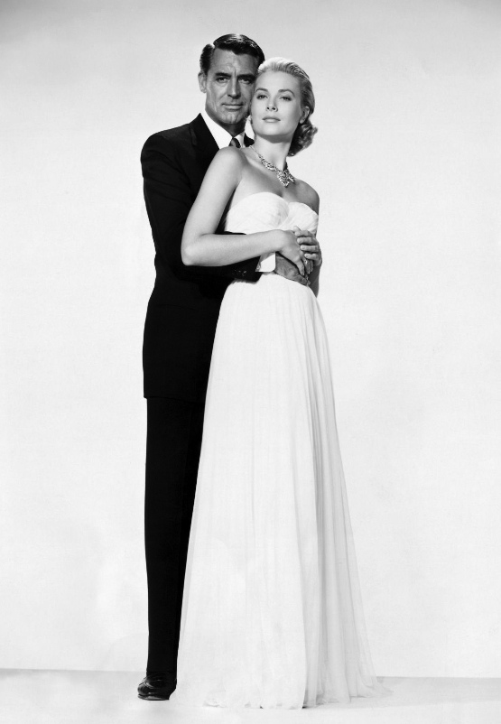Кэри Грант и Грейс Келли. Фото / Grace Kelly and Cary Grant. Photo