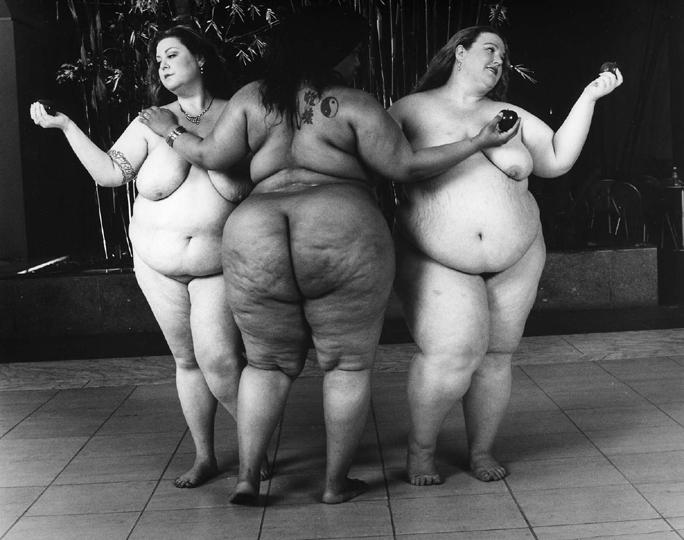Леонард Нимой. Три грации. Фото / Leonard Nimoy. The three Graces. Photo