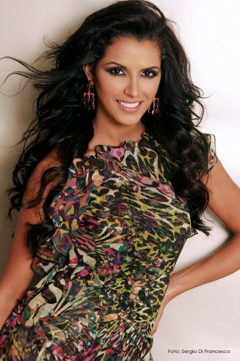 венесуэлка Ивиан Саркос, Мисс мира 2011. Фото / Ivian Sarcos (Venezuela) Miss World 2011. Photo