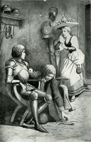 Первая встреча Кетхен из Гейльбронна и графа фон Штраля / Das Käthchen von Heilbronn und Wetter Graf vom Strahl