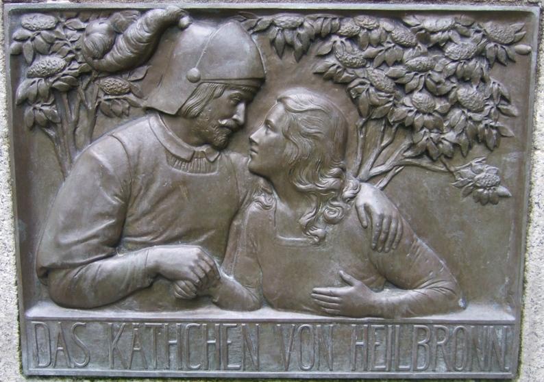 Кетхен из Гейльбронна и графа фон Штраль / Das Käthchen von Heilbronn und Wetter Graf vom Strahl