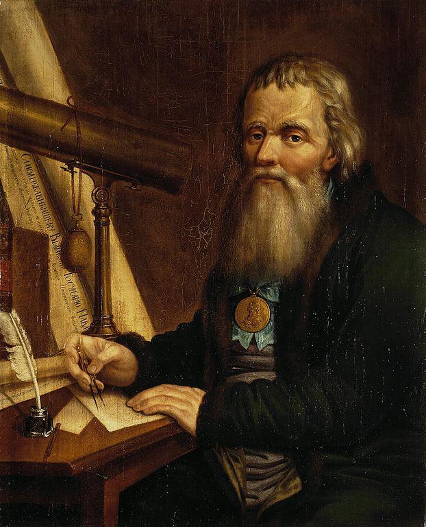 Портрет Ивана Петровича Кулибина