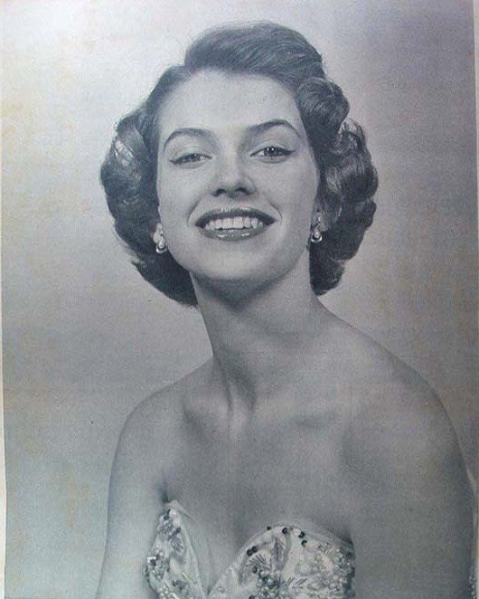 Май-Луиза Флудин (Швеция), Мисс мира 1952. Фото / May-Louise Flodin (Sweden), Miss World 1952. Photo
