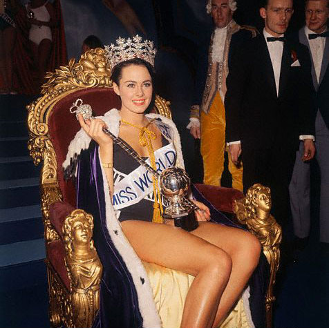 англичанка Энн Сидни, Мисс мира 1964. Фото / Ann Sidney (United Kingdom), Miss World 1964. Photo