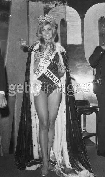 австралийка Пенелопа Пламмер Мисс мира 1968 Фото / Penelope Plummer Australia Miss World 1968 Photo