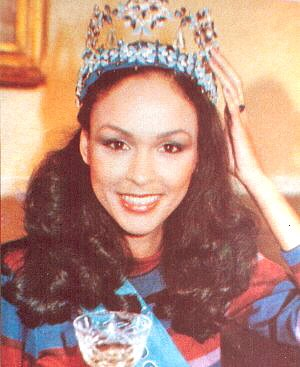 Джина Свенсон (Бермудские острова) Мисс мира 1979 Фото / Gina Swainson (Bermuda) Miss World 1979 Photo