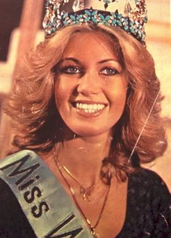 немка Габриэла Брум Мисс мира 1980 Фото / Gabriella Brum (Germany) Miss World 1980 Photo