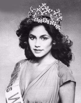 Кимберли Сантос (Гуам) Мисс мира 1980 Фото / Kimberley Santos (Guam) Miss World 1980 Photo
