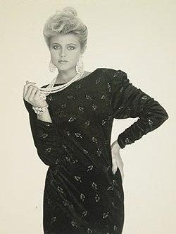 исландка Хольмфридур Карлсдоттир Мисс мира 1985 Фото / Hólmfríður Karlsdóttir (Iceland) Miss World 1985 Photo