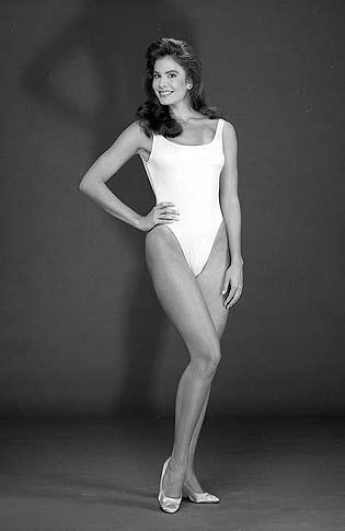 американка Джина Толлесон Мисс мира 1990 Фото / Gina Tolleson (United States) Miss World 1990 Photo