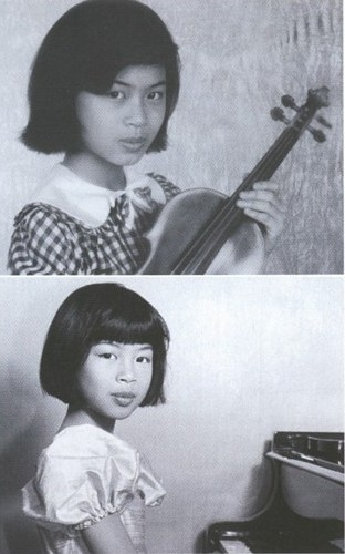 Ванесса в детстве. Фото / Vanessa-Mae in childhood. Photo