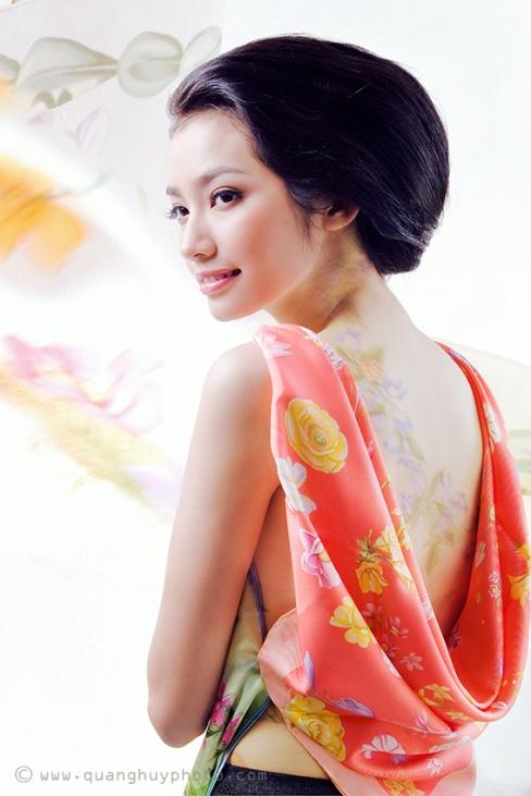 красивая вьетнамка Truong Tri Truc Diem, Miss Vietnam International 2011. Photo