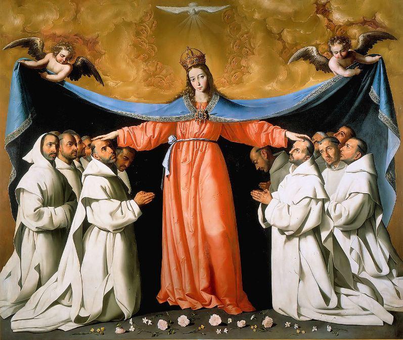 Франсиско де Сурбаран. Мадонна Милосердия / Francisco de Zurbarán. Virgin of Mercy
