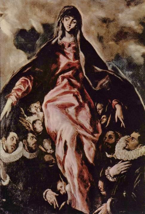 Эль Греко. Мадонна Милосердия / El Greco. Virgin of Mercy
