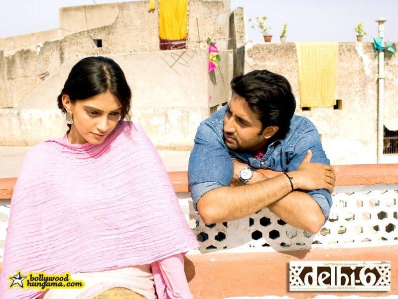 Сонам Капур, Абхишек Баччан (Дели-6) / Sonam Kapoor, Abhishek Bachchan (Delhi-6)