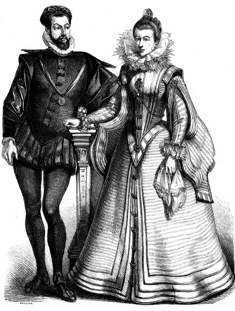 a history of upper class women in the renaissance Renaissance costume glossary the following terms will aid you with the many layers of women's renaissance costumes the center bone in an upper-class lady's.