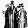 История костюма в иллюстрациях: 19 век (Германия, Австрия, Швейцария)