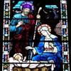 Рождество Христово на витражах