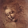 Леонардо да Винчи. Эскизы женских голов (10 рисунков)
