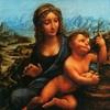Леонардо да Винчи - Мадонна с прялкой