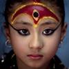 Кумари - живая богиня в Непале (15 фото)