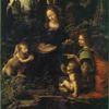 Леонардо да Винчи. Мадонна в скалах